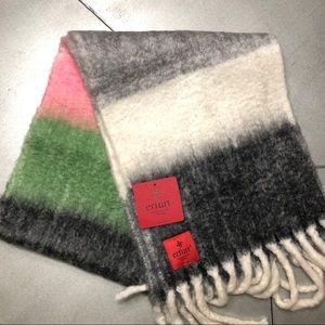 🌟Anthropology/erfurt striped wool blanket scarf